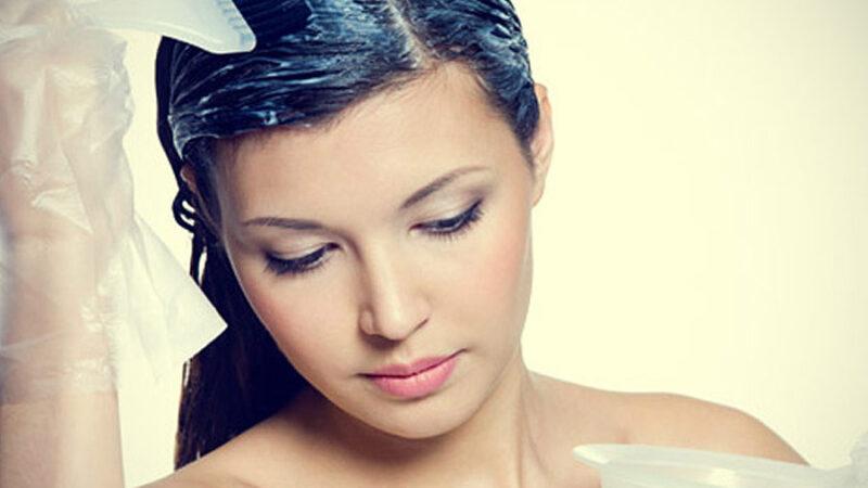 Usuwanie farby do włosów ze skóry