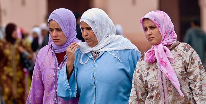 Kobiety-Maroko