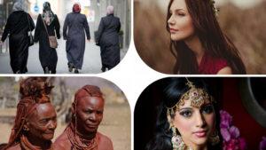 Włosy w różnych kulturach