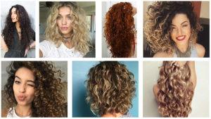 Fryzury kręcone włosy