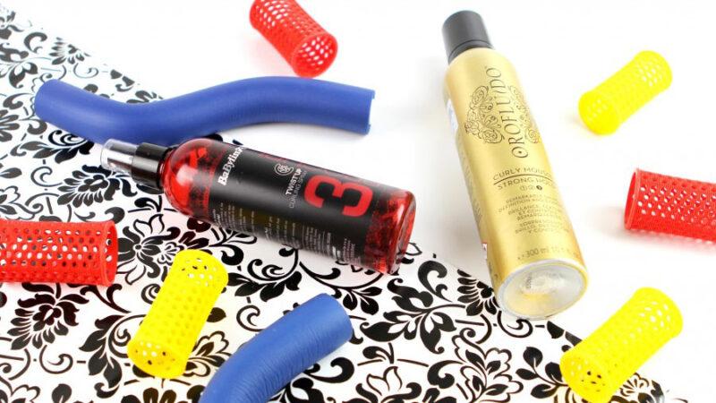 Kosmetyki do kręcenia włosów