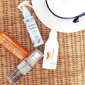 Kosmetyki do ochrony UV włosów