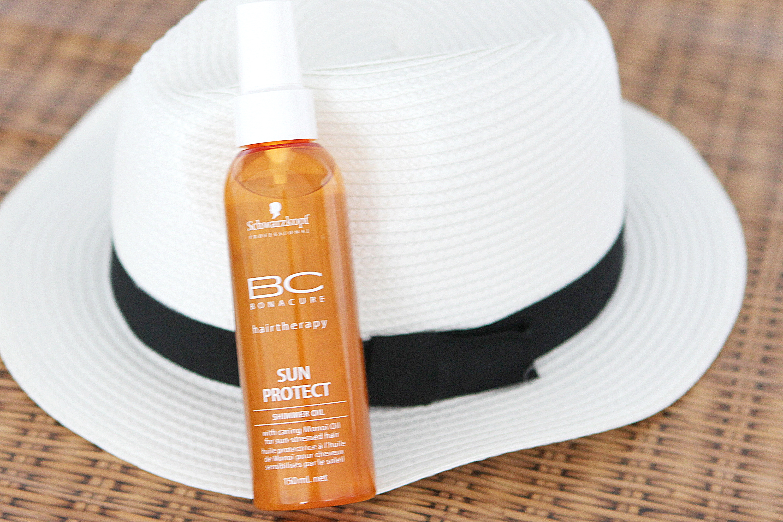schwarzkopf bc sun protect shimmer oil olejek uv ochrona