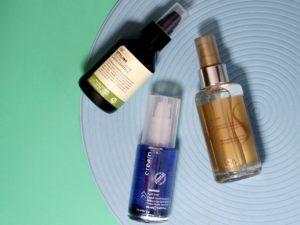 Test olejków do włosów