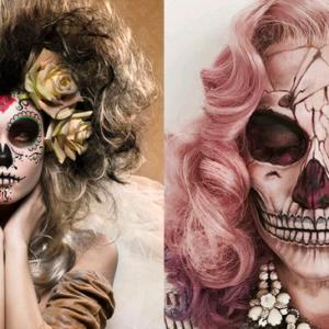 Fryzury na halloween a do tego upiorne makijaże!   Blog