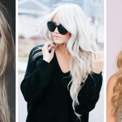 włosy blond odcienie