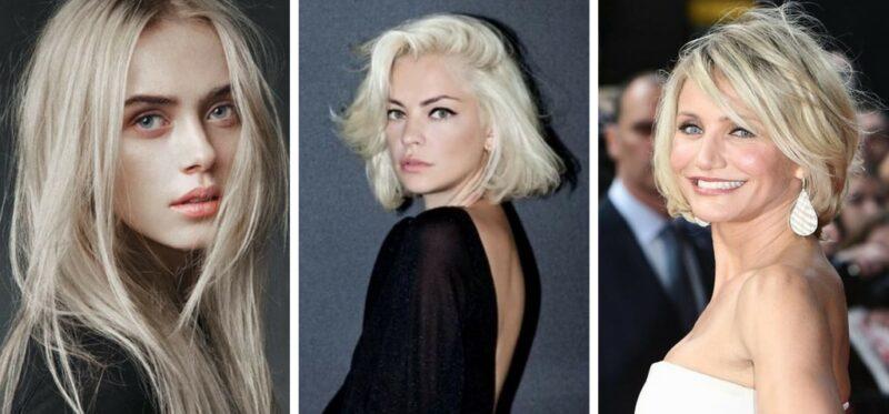 chłodny blond, zimny blond