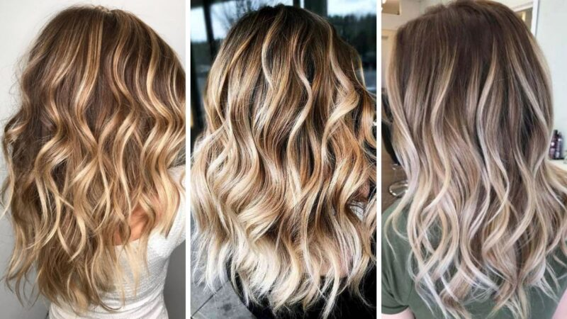 blond refleksy