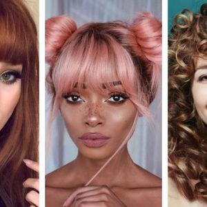 Komu Pasuje Grzywka Dobierz Grzywkę Do Kształtu Twarzy Blog Hairstore