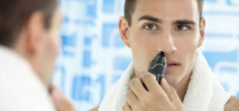 trymer do włosów w nosie