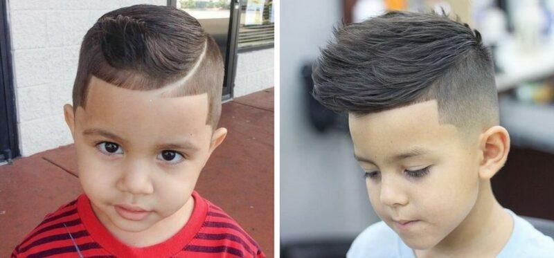 pomysły na fryzury dla chłopca