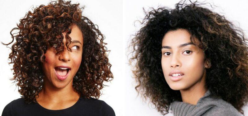 dlaczego włosy się kręcą