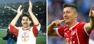 fryzury piłkarzy wczoraj i dziś