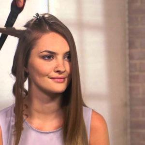 Kręcenie włosów lokówką