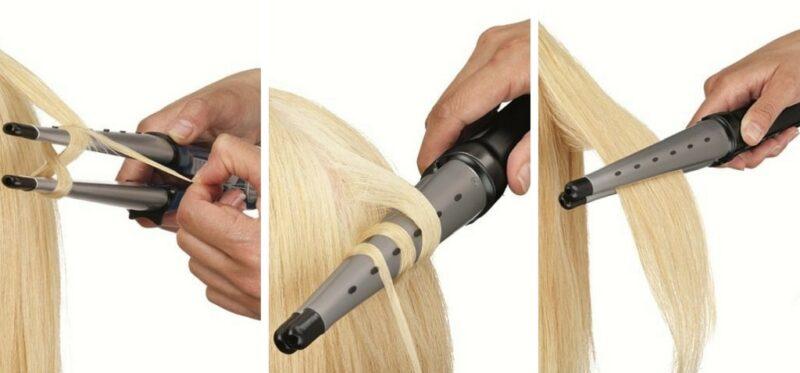 lokówki do włosów babyliss stożkowe