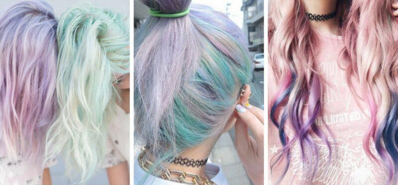 komu pasują pastelowe włosy
