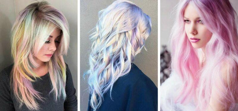 pastelowe włosy