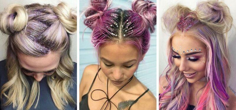 kolorowe włosy na wakacje