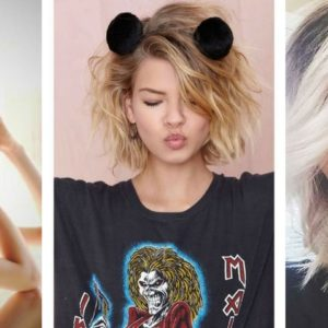 fryzury na krótkie włosy 2018