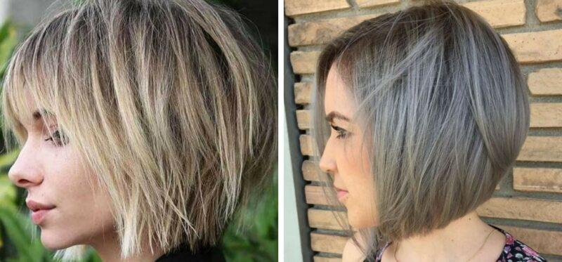 krótkie fryzury na cienkie włosy