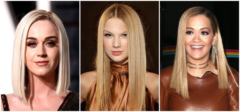 taylor swift glass hair