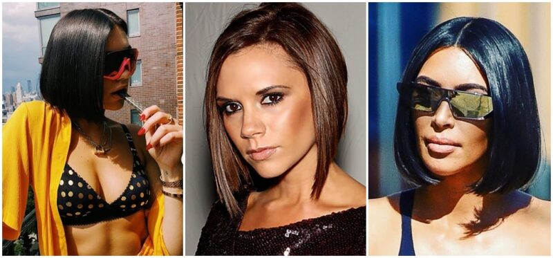 Victoria beckham glass hair