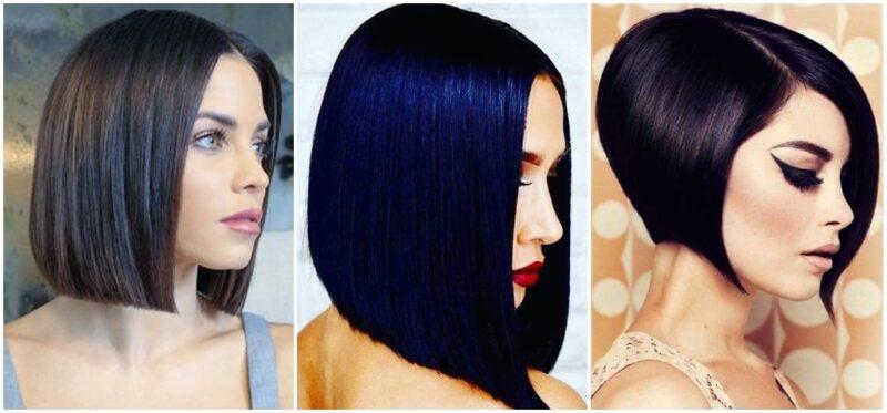 efekt lustrzanych włosów