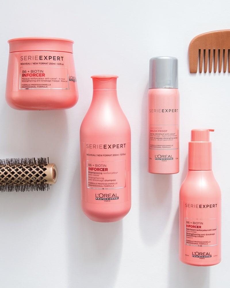 szampon loreal inforcer odżywka loreal inforcer