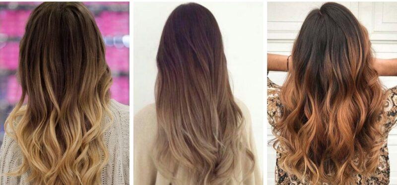 jak można zrobić ombre włosy