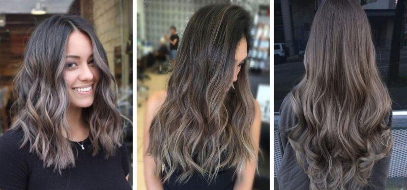 Cool Toned Balayage Nowy Trend Dla Ciemnych Włosów Blog Hairstore