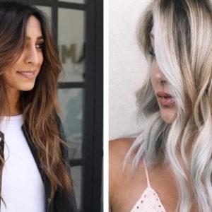 brązowe włosy z refleksami