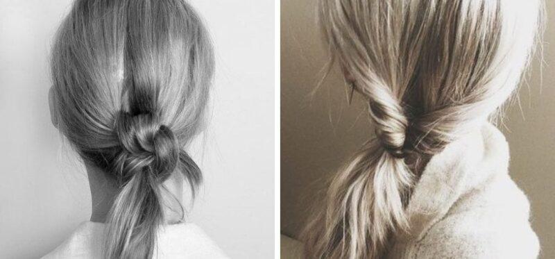 pomysł na szybką fryzurę