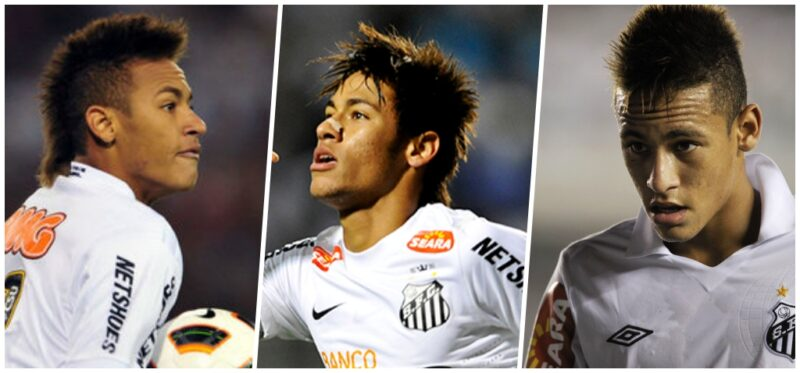 Fryzura Neymara 2009