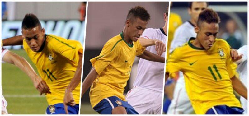Fryzura Neymara 2010