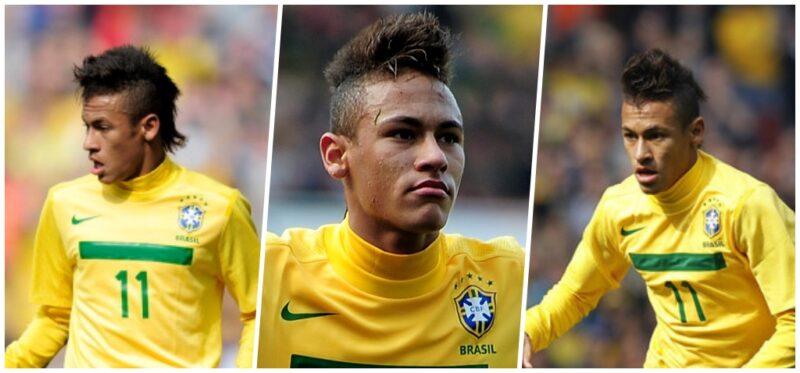 Fryzura Neymara 2011