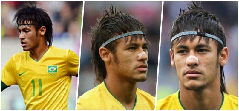 Fryzura Neymara 2012