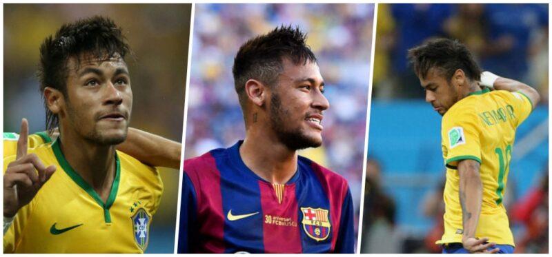 Fryzury Neymara 2014