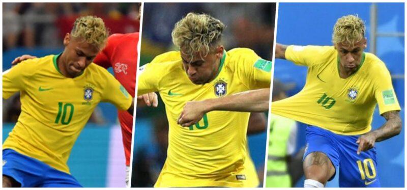 Fryzura Neymara 2018