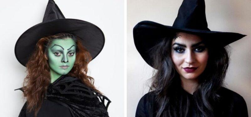 czarownica charakteryzacja na halloween