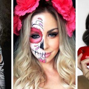 pomysły na fryzury na halloween 2018