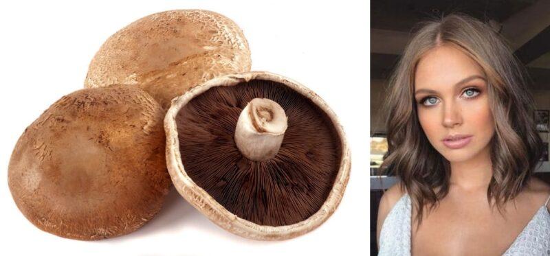 mushromm brown hair czyli grzybowe włosy