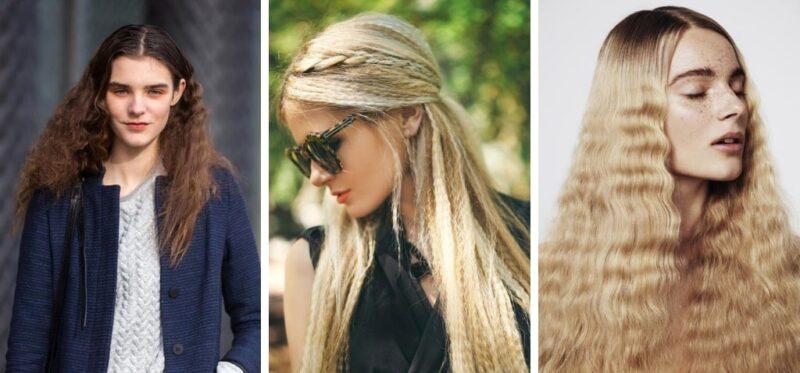 ciekawe pomysły na karbowane włosy