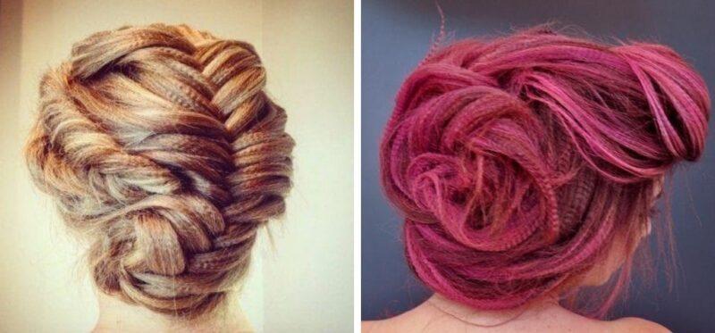 karbowane włosy fryzury