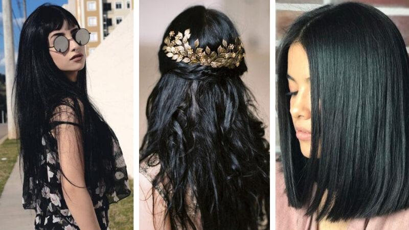 Komu Pasują Czarne Włosy Blog Hairstore