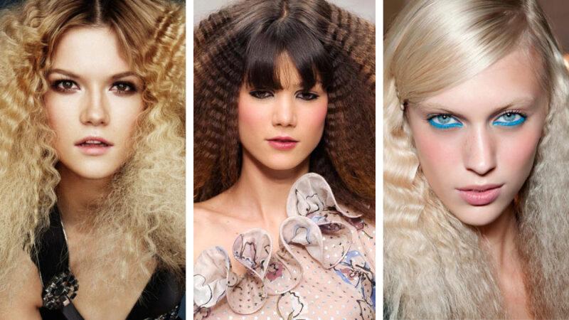 Fryzury Z Karbowanych Włosów Hit Blog Hairstore