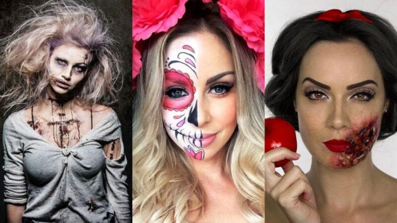 Fryzury Na Halloween A Do Tego Upiorne Makijaże Blog