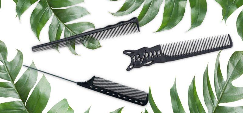 profesjonalne grzebienie fryzjerskie Y.S. Park