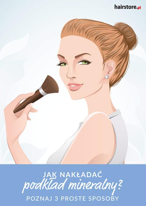 E-book Hairstore: Jak nakładać podkład mineralny?