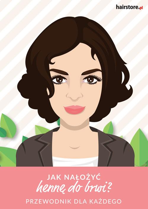 E-book Hairstore: Jak nałożyć hennę do brwi?