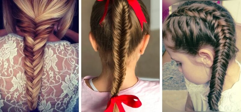 kłos, fryzury długie włosy, fryzury plecione dla dziewczynek